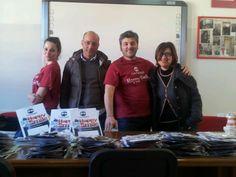 Igientisti CalabroDental per il Mese della Prevenzione 2014 - Reggio Calabria - insieme ai docenti dell'Istituto Comprensivo Carducci-Vittorino da Feltre
