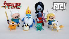 Adventure Time Customs by PJ Constable