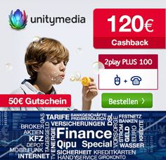 Unitymedia – Internet über Kabel (bis zu 150Mbit/s) und 170€ Cashback *UPDATE* - myDealZ.de