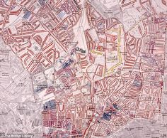 Descriptive Map of London Poverty: Exposed the extent of poverty to Londoners in 1889.