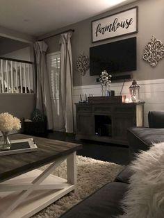 39 Cozy Farmhouse Living Room Makeover Decor Ideas