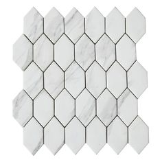 Get creative with your interior design choice with the Urban white glass mosaic tiles. These mosaic tiles with a marble effect design and interesting shape offer a subtle yet striking design for splashbacks and features walls in bathrooms and kitchens. Hexagon Mosaic Tile, Mosaic Bathroom, Glass Mosaic Tiles, Tile Warehouse, Tiles Direct, White Wall Tiles, Marble Effect, White Marble, Feature Walls