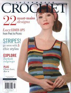Ravelry: Twiggy Dress pattern by Kathy Merrick Knitting Magazine, Crochet Magazine, Knitting Books, Crochet Books, Free Crochet, Knit Crochet, Crochet Summer, Crochet Cardigan, Crochet Sweaters