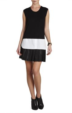 BCBGMAXAZRIA Durian Sleeveless Shirt-Hem Top on shopstyle.com