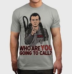 30 Ghostbusters T Shirts | 12. Uncle Venkman – by moysche