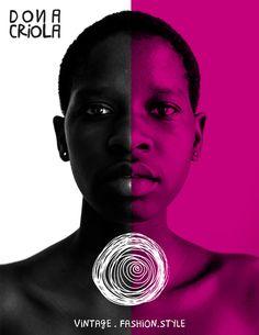 Dona Criola - Identidade Visual by Fabiano Rocha, via Behance