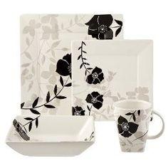 nature-inspired dishware | ... Dinnerware, Asian-Style, Black, Nature-Inspired, Square, Square... See