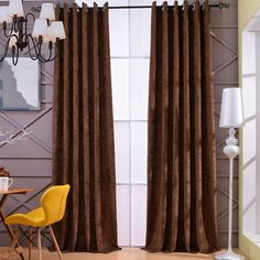[byetee] Chenille Soundproof Kitchen Ready Made Curtains For Custom Modern Living Room Bedroom Products Blackout Window Curtain