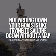 You need a roadmap to success to reach your destination, have goals, dreams and a plan! - Quote : @johnleedumas