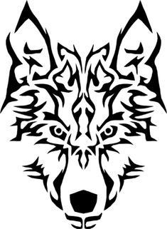 File:Tribal-Wolf-Symmetric.png