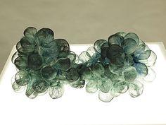 linda celestian - silk, dye and nylon thread  OutsideSlideshow