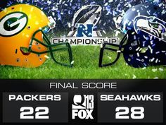 """January 18, 2015. NFC CHAMPS!   """"You play to win!  You don't play not to lose!"""""""
