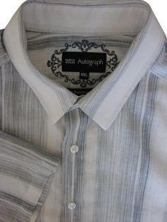 CuteRose Mens Pure Color Stand Up Collar Tunic Shirts Stripe Summer Shirt