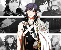 Because Chrom is sexy and he knows it.