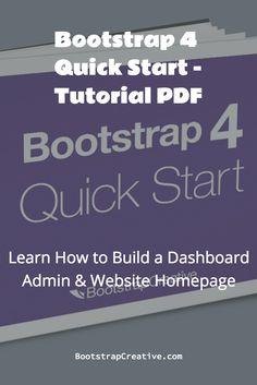 Tutorial pdf bootstrap twitter