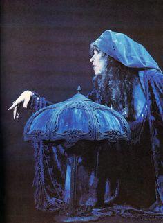 Stevie and her Blue Light...