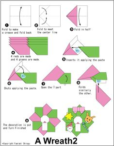 Origami Guirlande De Noel Tout Pleins Dautres Modeles Sur Le