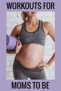 Pregnancy Workout Plan For Every Trimester Fit Pregnancy, Trimesters Of Pregnancy, Pregnancy Workout, Ab Core Workout, Butt Workout, Thigh Workouts At Home, Prenatal Workout, Thigh Exercises, Fitness Nutrition
