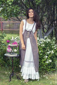 8e7546f115b9 Купить Копия работы Комплект БОХО 2 белый - белый, однотонный, летнее платье