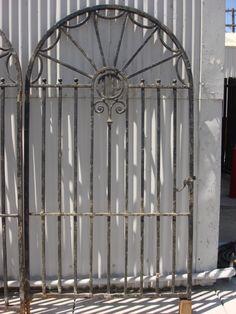 antique iron entrance gates - Google Search