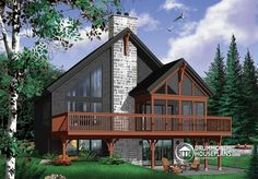 Visit Our Website To Look At The Floor Plans And Pictures Of This Home Or To Order The Blueprints Or Pdf File A Cottage Plan House Plans Drummond House Plans