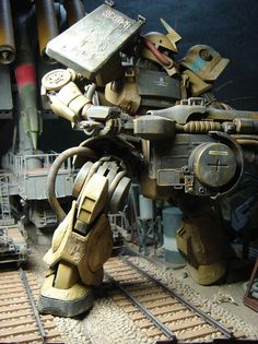 Armour plate makes a comeback. Zaku.
