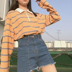 Mode Automne 🤗 - You are in the right place about Outfit hombre Here we offer you the most beautiful pictures about the trendy Outfit you are looking for. When you examine the Mode Auto Vintage Outfits, Retro Outfits, Cute Casual Outfits, Outfits For Teens, Summer Outfits, Teen Fashion Outfits, Mode Indie, Mode Hipster, Indie Outfits
