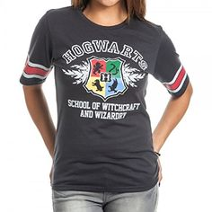 Harry Potter Hogwarts Juniors Hockey T-Shirt
