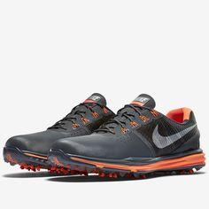 100e4b67a02a Nike Men s Lunar Control 3 Golf Shoe - Grey Orange - Men s - Golf Shoes