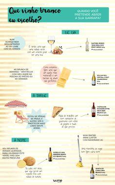 Vinho branco e verão tem tudo a ver! Escolha os melhores para curtir a estação. #wine #vinho #vinhobranco