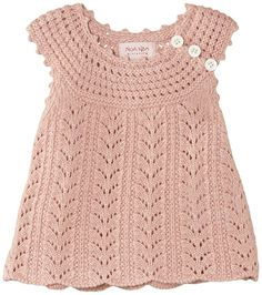 Noa Noa Baby Girls Wool Sleeveless Cardigan, Pink (Blush), 0-3 Months (Manufacturer Size:3)
