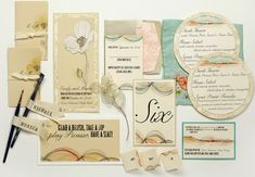 Inspirations – Zion and Yosemite National Park Wedding Invitations by Momental Designs