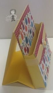 TUTORIAL FOR 3X3 POST-IT HOLDER!