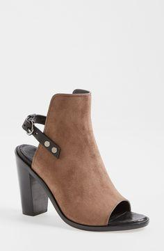 rag & bone Suede Heeled bootie sandal.