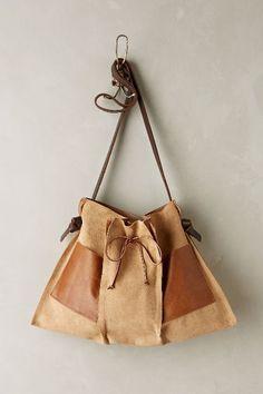 Pinch-Pleat Messenger Bag - anthropologie.com