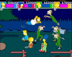 The Simpsons Arcade Game (1991)