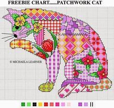 """Materiales gráficos Gaby: Varias plantillas de bordado """"Mosaico"""""""