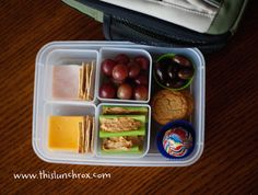 such cool school lunch ideas!