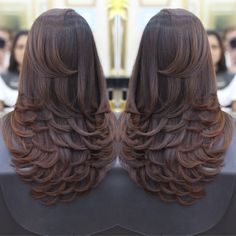 91 the best prom hair looks you are going to fall in love with 2019 page 12 91 the best prom hair looks you are going to fall in love with 2019 page 12 Long Layered Haircuts, Haircuts For Long Hair, Long Hair Cuts, Layers For Long Hair, Layered Long Hair, Medium Hair Styles, Curly Hair Styles, Pinterest Hair, Hair Highlights
