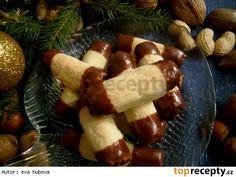 Kokosové trubičky + rožteky / Kokosové trubičky + rohlíčky