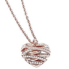 Guess Womens Necklace Rhodium Plated Round Cut Clear Cubic Zirconia 45 cm UBN21620 Guess - UBN21620 Rosé gold-plated necklace with heart pendant and cubic zirconia. The necklace is made of rhodium plated stainless steel and plated. Your piece of jewelry (Barcode EAN = 7613332322912) http://www.comparestoreprices.co.uk/december-2016-5/guess-womens-necklace-rhodium-plated-round-cut-clear-cubic-zirconia-45 cm-ubn21620.asp