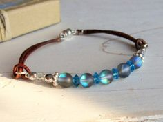 Stocking Stuffers for Women Blue Bead and by AnnieExpressions