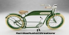 Vintage Stuff and Antique Designs Beach Cruiser Bikes, Cruiser Bicycle, Retro Bicycle, Old Bicycle, Trike Scooter, Push Bikes, Lowrider Bike, Bike Art, Bicycle Accessories