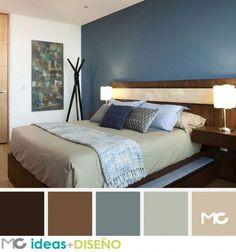 habitaciones-con-toques-chocolate #decoracionhabitacion