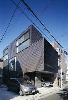 BRUN / APOLLO Architects & Associates, Posted on 20JUN 2012  Filed under: Houses ,Selected , Apollo Architects & Associates, Japan, Tokyo
