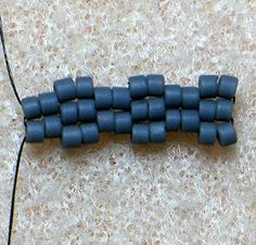 2-Drop Peyote Stitch #Seed #Bead #Tutorials