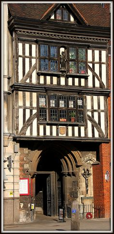 London| St Bartholomew the Great, The Tudor Gatehouse