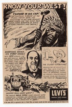 Levi's AD, 1953