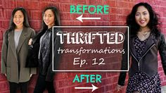 In this episode, I transform two jackets and turn it into one stylish blazer! :) Sewing Machine in this video: http://www.sewingmachinesplus.com/Singer-Quant...