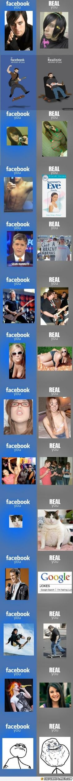Facebook And Reality